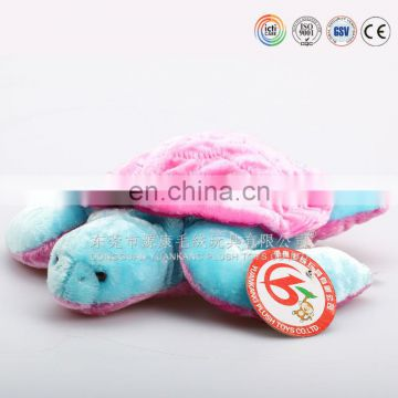 ICTI audited factory direct selling plush turtle toy/sea turtle soft toy