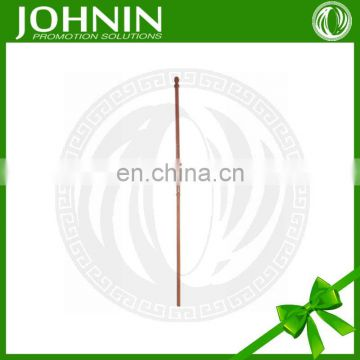 Water proof customized length reusable wooden flagpole