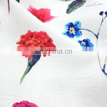 Custom Design Digital Print Knitted Bamboo Fabric No MOQ Free Sample