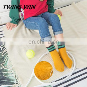 bulk woven sock wholesale custom print children girls high-quality non slip colored cotton ankle socks