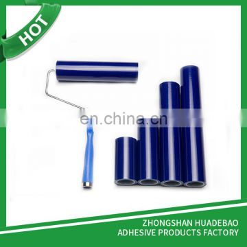 White/Blue Cleanroom Sticky Roller