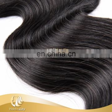 Wholesales Unprocessed Body Wave Natural Black 1b# Brazilian Hair