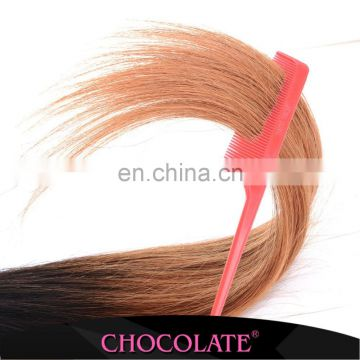 Hot Selling Chocolate Human Hair Extension Chocolate Brown Hair Color