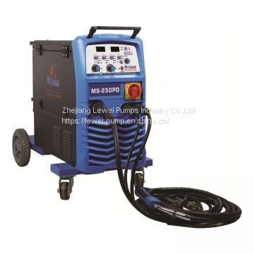 MS-250P three phase MIG/MAG/MMA inverter welding machine
