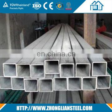 China Hollow section 20*20*1.5mm black square steel tube price per kg