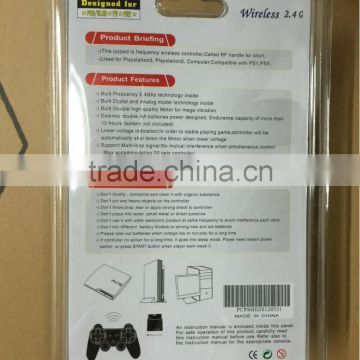 New 3 in 1 2.4GHz Wireless Controller For PS2 for PS3 for PC Universal Game Controller