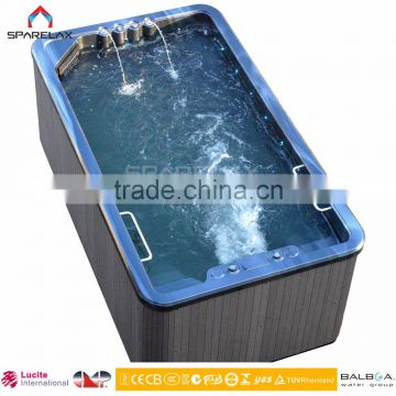 Perfect endless swimming pool with jets and heater outdoor portable swim pool