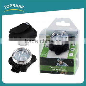 New design led bike watch lights usb rechargeable bike front light