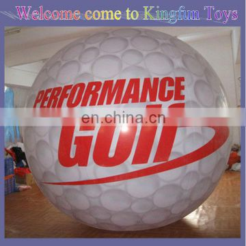 Golf inflatable helium balloon