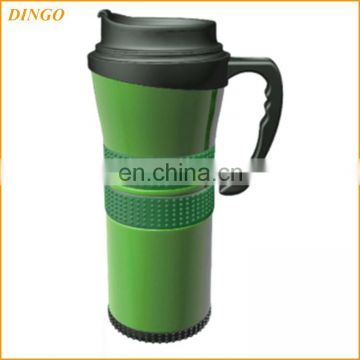 Stainless Steel Coffee Cup Handle Thermos Travel Mug Tumbler With Lid