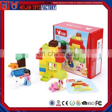 Wholesale 30pcs kids creative DIY construction plastic building blocks toys