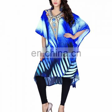 Short Kaftan / Latest Party Wear Kaftan 2016/ Daily Casual Wear Digital Printed Kaftan (kaftans 2017)