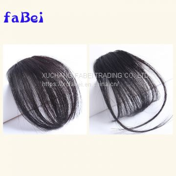 product distributor wanted hair fringe  new arrival sewn clip in hair bangs