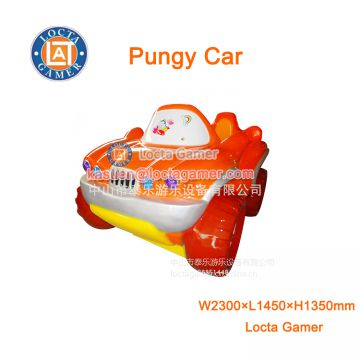 Zhongshan amusement park equipment wig-wag machine kiddy rides 2 seat mini Pungy Car video game swing machine