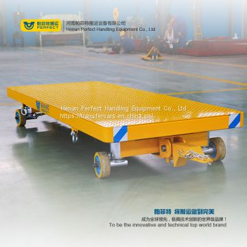 steel welded transporter low bed trailer for heavy machine transfer