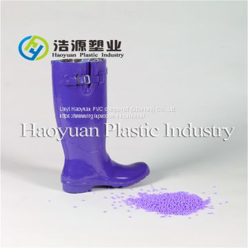 Virgin PVC compounds/particles/pallets for rain boots