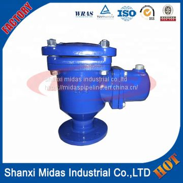 small ductile cast iron air relief valve for water use