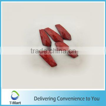 unique design beautiful pattern red acrylic beads acrylic stone gems China made artificial Plastic stone for decoration