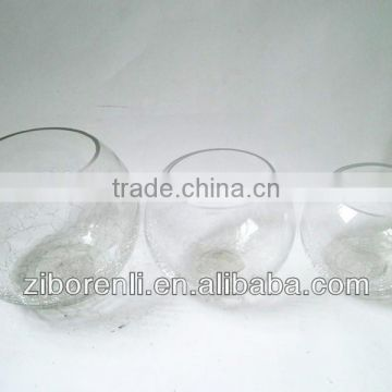 Custom made wholesale glass fish bowls