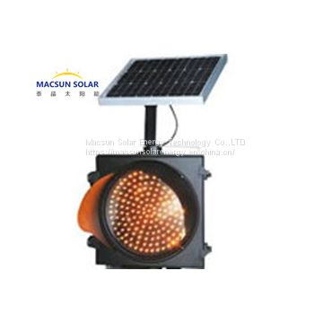 Solar Traffic Lighting System