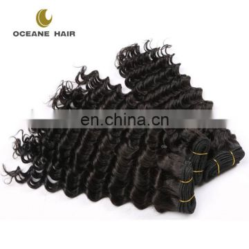 Alibaba express China factory natural black brazilian human hair sew in weave bundles spanish wave wholesale remy brazilian hair