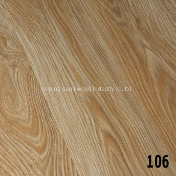 matte MDF AC1 8.3mm laminate flooring for russia