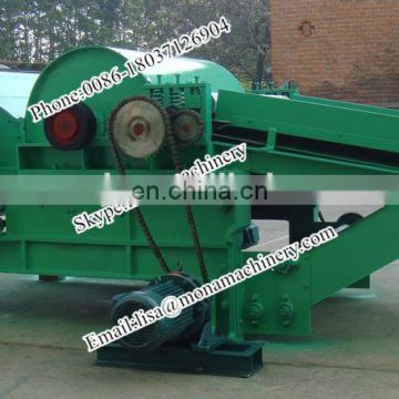 Factory supply rag tearing cotton yarn waste recycling machine