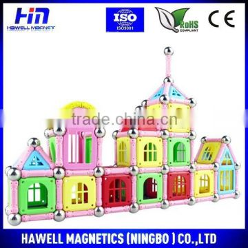 Castle construction magnetic toys, buiding toys, hot sale new toys