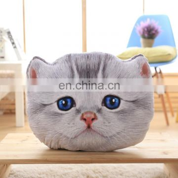 Hot selling cat pillow interesting pillow decorative professional production custom pillow manufacturer