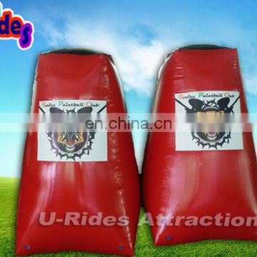 Large Hot air sealed Big size customed outdoor Inflatable paintball arena for shooting games