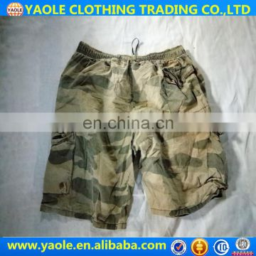 High quality Men's Cargo Shorts Pants Men's Used Pants