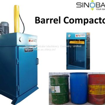 Barrel Compactor - Flatten your Barrels