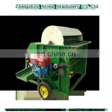 good quality green mung bean picker machine huller shelling machine
