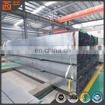 Galvanized steel pipes square tube 30x30MM