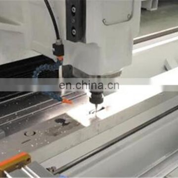 3 Axis CNC Drilling Machining Center For Aluminum Curtain Wall Profile
