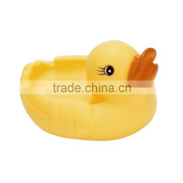 Mini Yellow Rubber Bath Ducks for Child , Rubber Duck Bath Toy Baby Shower Birthday Party Favors