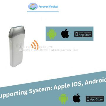 10MHz Apple Ios Android Wireless Ultrasound Probes Ultrasound Scanner