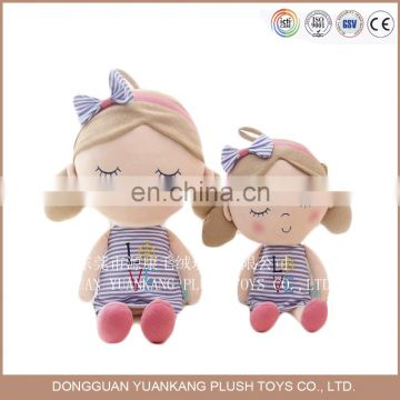 ICTI Audited Factory direct wholesale Plush Girl Doll for girls