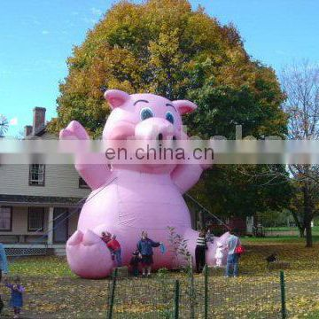 Inflatable Cartoon Pig