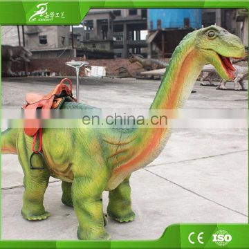 KAWAH New Amusement Animatronic Walking Dinosaur Rides For Sale
