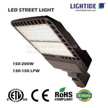 Lightide CE_RoHs led street lights, 150W, 5 yrs Warranty
