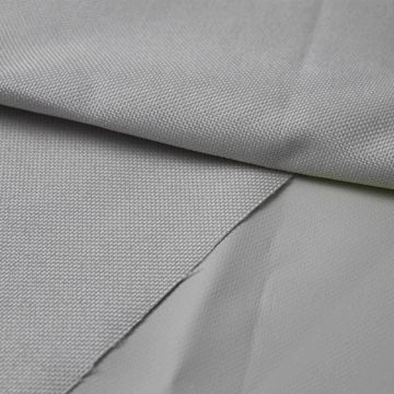 4 pass flame resistant coated blackout curtain fabric