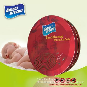 Supplier Sweet Dream Sandalwood mosquito coil for Insect Killer