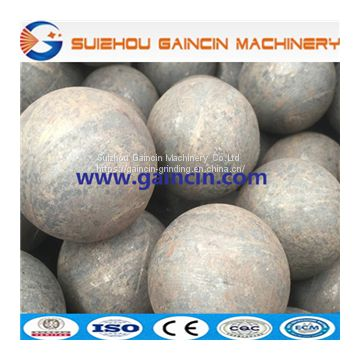 grinding media forged balls, steel forged rolling balls for minings & minerals processing