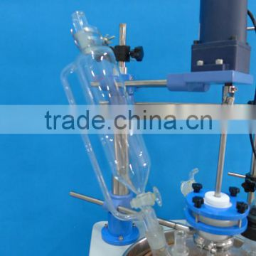 Single-layer nonhazardous pressure glass reactor