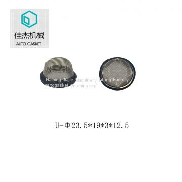 rubber&plastic wrapping filter mesh for water cleaning machine