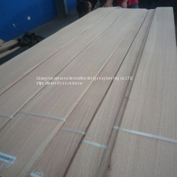 Natural North America white oak  wood veneer whith grade of panel AA(montain grain)