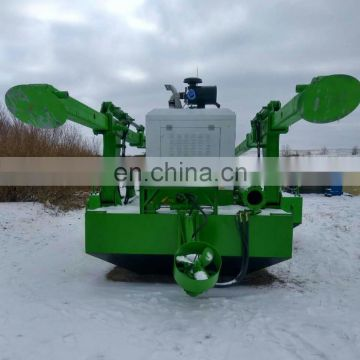 new small full motorized dredger sludge disposing dredger
