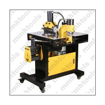 DHY-200 hydraulic busbar bending cutting and hole punching machine