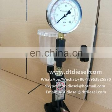 S60H diesel fuel injection pressure tester
